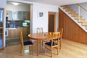 Well kept building with an elevator and safety code for your protection. Safe parking place and sauna (for a fee, upon previous request)! This  one-bedroom serviced apartment is 90 sq.m ,  and can sle
